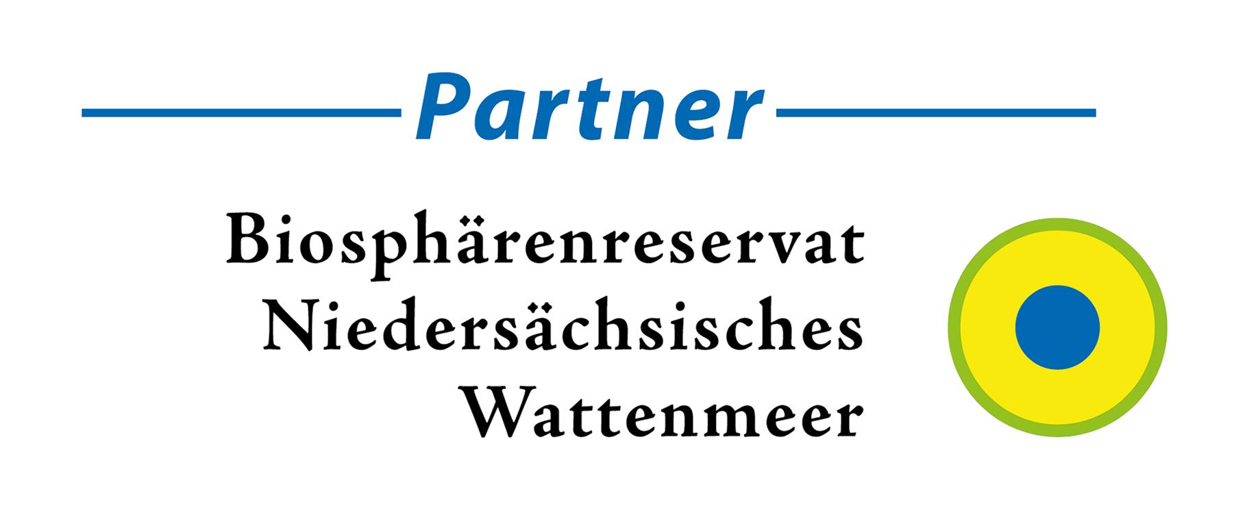 Logo Partnerbetrieb Biosphärenreservat Niedersächsisches Wattenmeer