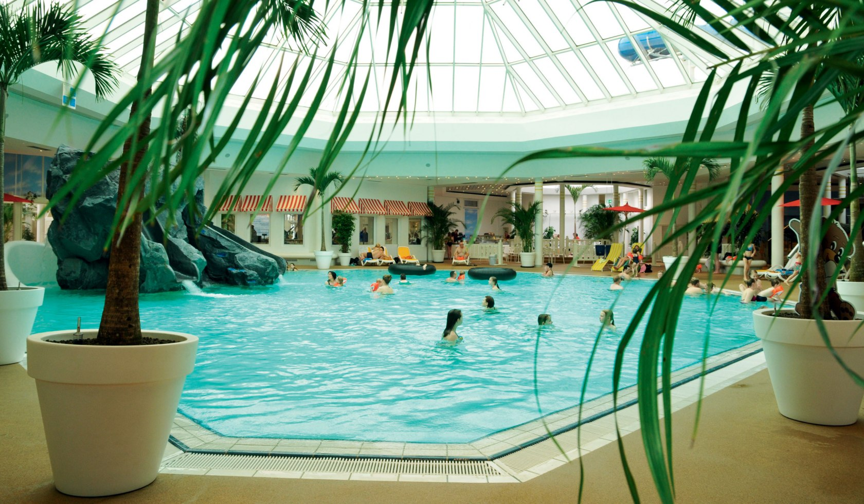 Tropisches Flair in der Nordseetherme